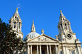 St. Paul's Cathedral church, London Royalty Free Stock Photo