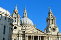 St. Paul's Cathedral church, London, UK Royalty Free Stock Photo