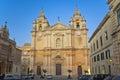 St. Paul's Cathedral, Mdina, Malta Royalty Free Stock Photo
