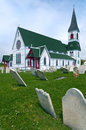 St Paul's Church, Trinity, Newfoundland Stock Images