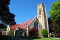 St Paul's Episcopal Church, Rochester Royalty Free Stock Photos