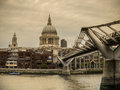 St pauls cathedral Imagem de Stock Royalty Free