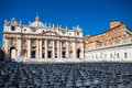 St. Peter Basilica Basilica Papale di San Pietro in Vaticano Royalty Free Stock Photo