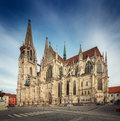 St Peter Cathedral, Regensburg, Germany Royalty Free Stock Photo