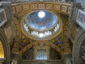 St peter s basilica vatican city or san pietro italy Stock Images