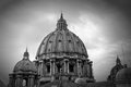 St. Peter's cathedral in Rome, Italy Stock Image