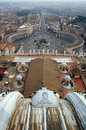St Peter's Square, Vatican Stock Photos