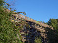 St peter seminary cardross scotland uk september ruins of iconic masterpiece of the new brutalism in nr glasgow grade i Stock Image