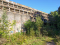 St peter seminary cardross scotland uk september ruins of iconic masterpiece of the new brutalism in nr glasgow grade i Stock Photography