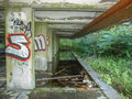 St peter seminary cardross scotland uk september ruins of iconic masterpiece of the new brutalism in nr glasgow grade i Royalty Free Stock Photo