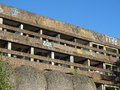 St peter seminary cardross scotland uk september ruins of iconic masterpiece of the new brutalism in nr glasgow grade i Stock Images