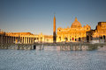 St peters basilica vatican rome italy Royalty Free Stock Photo