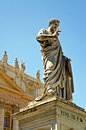 St Peters Monument at Vatican City Stock Photos