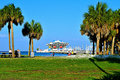 The St. Petersburg, Florida Pier Royalty Free Stock Photo