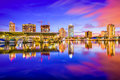 St. Petersburg, Florida Royalty Free Stock Photo