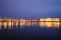 St petersburg night view of Royalty Free Stock Photos