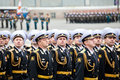 St petersburg russia may military victory parade victory in the world war ii is spent every year on may on palace squar square of Royalty Free Stock Images
