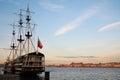 St. Petersburg. Sailing ship Royalty Free Stock Photo