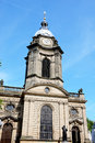 St philips cathedral birmingham view of and clockl tower england uk western europe Stock Photography
