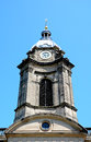 St Philips Cathedral tower, Birmingham. Royalty Free Stock Photo