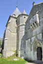 St remi fortified church, aoust, ardennes Royalty Free Stock Image