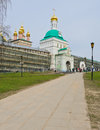 St sergius monastery entrance to trinity lavra of in sergiev posad russia photo taken on may Royalty Free Stock Images