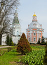 St sergius monastery trinity lavra of in sergiev posad russia Royalty Free Stock Photos