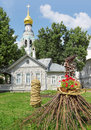 St. Sofia cathedral in Vologda Stock Images