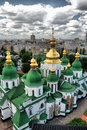 St. Sophia Cathedral in Kiev Royalty Free Stock Photo