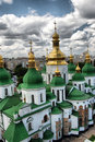 .St. Sophia Cathedral in Kiev Royalty Free Stock Photo