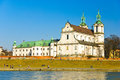 St. Stanislaus Church on the Rock, Cracow, Poland Royalty Free Stock Images