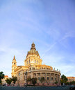 St stefan basilica in budapest hungary stephen the morning Royalty Free Stock Photos