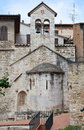 St. Stefano e Valentino Church. Perugia. Umbria. Stock Images