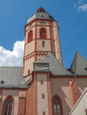 St Stephan church Mainz Royalty Free Stock Photos