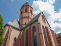 St stephan church mainz in in germany Stock Photos