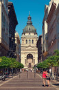 St. Stephen Basilica, Budapest Royalty Free Stock Photo