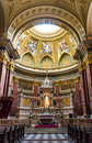 St stephen basilica dome hungary of was built in neo classic style but with neo renaissance between and largest church in budapest Stock Images