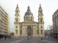 St. Stephen's Basilica. Royalty Free Stock Photography