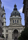 St stephen s basilica in budapest hungary Royalty Free Stock Photos
