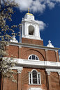 St. Stephen's Church in Boston, Massachusetts Stock Photography