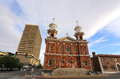 St Thomas Aquinas Cathedral in Reno, Nevada Royalty Free Stock Photo
