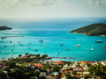 St Thomas Island Royalty Free Stock Photo