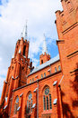St. Trinity Roman Catholic Church Royalty Free Stock Photography