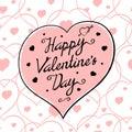 St valentine pink Photos libres de droits