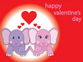 St.valentine's card Royalty Free Stock Photo
