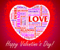 St. Valentine's Day collage Royalty Free Stock Photography