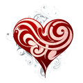 St. Valentines heart shape Royalty Free Stock Image