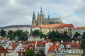 St Vitus Cathedral, Prague Castle, Hradcany, Czech Republic Royalty Free Stock Photo