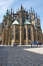 St. Vitus Cathedral in Prague, Chech Republic Royalty Free Stock Photo