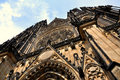 St. Vitus Cathedral in Prague, Czech Republic Stock Photos